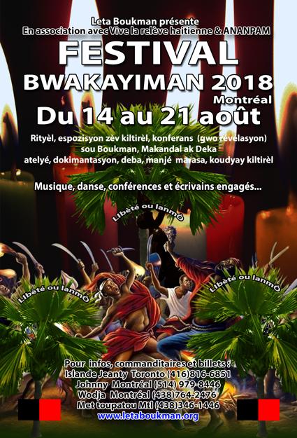 FESTIVAL BWA KAYMAN 2018